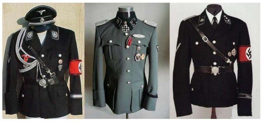Nacistické uniformy, které firma Hugo Boss vyráběla