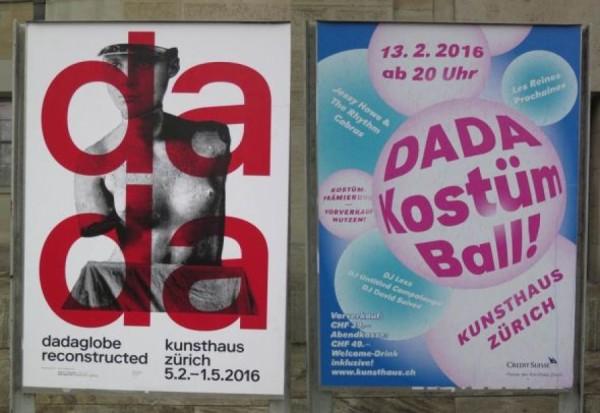 Výstava v Kunsthausu a plakát / pozvánka na : 12.února 2016