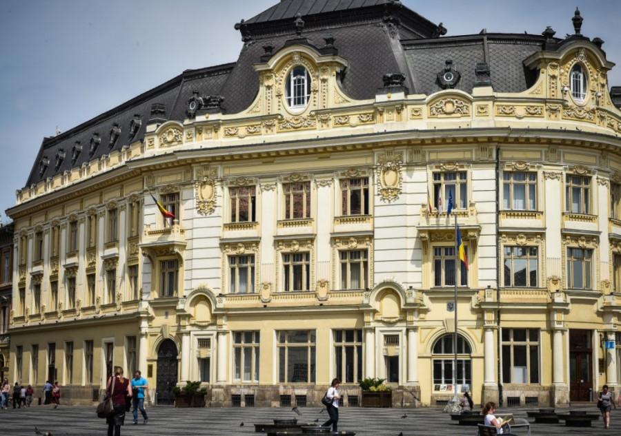 Radnice v Sibiu - budoucí místo splněných slibů?