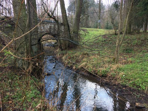 Mostek sur le ruisseau Úpořský