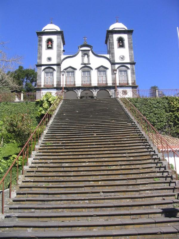 Kostel Nossa Senhora do Monte na Madeiře – místo císařova posledního odpočinku
