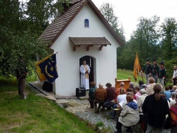 kaple v Branišově u Kdyně – první samostatná sakrální stavba zasvěcená bl. Karlovi v Českých zemích