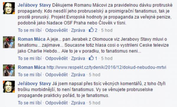 Příspěvky Jiřího Jeřábka