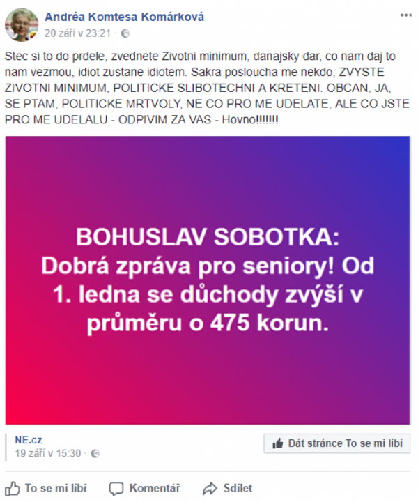 Andrea a Sobotka