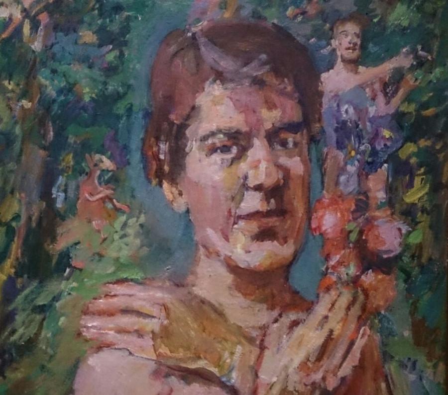 Kokoschova manželka Olda Palkovská, 1937