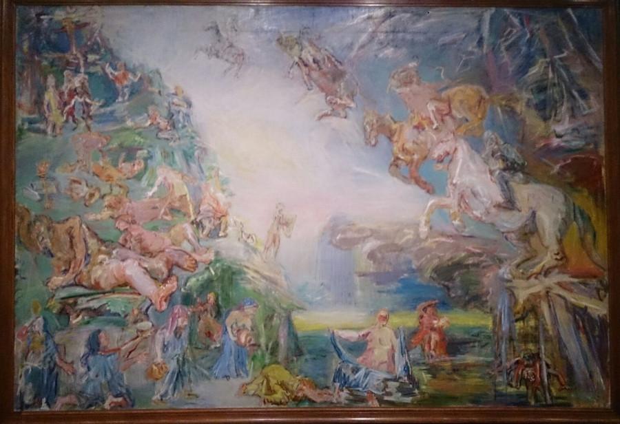 centrální téma triptychu Prometheova sága z Londýna