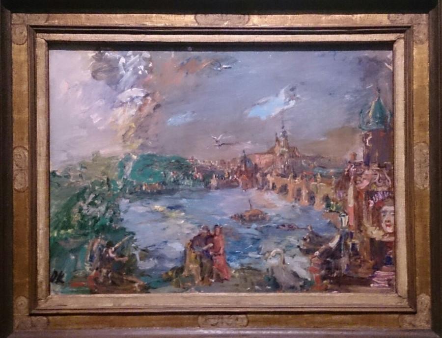Nostalgická Praha, O. Kokoschka, 1938