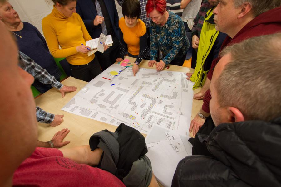 setkání k plánovanému projektu revitalizace sídliště v Rozdělově