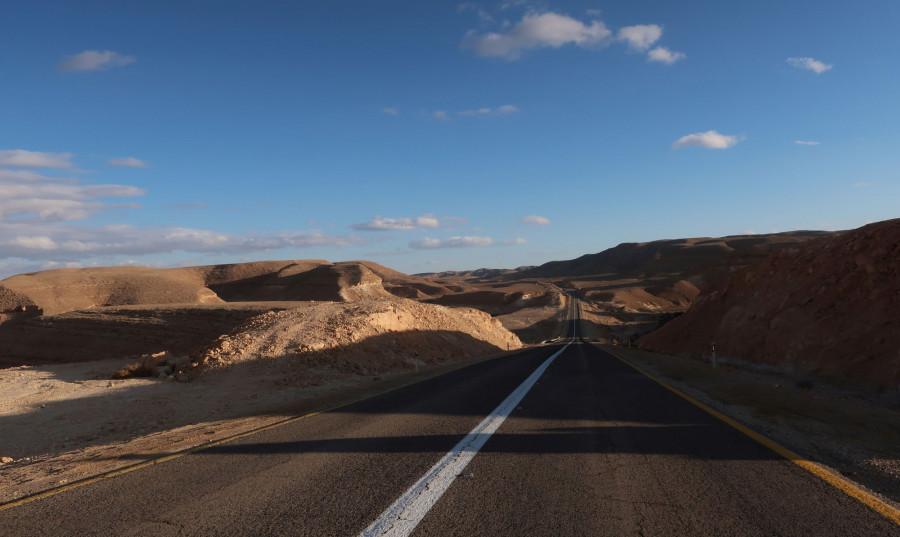 Silnice Negevskou pouští