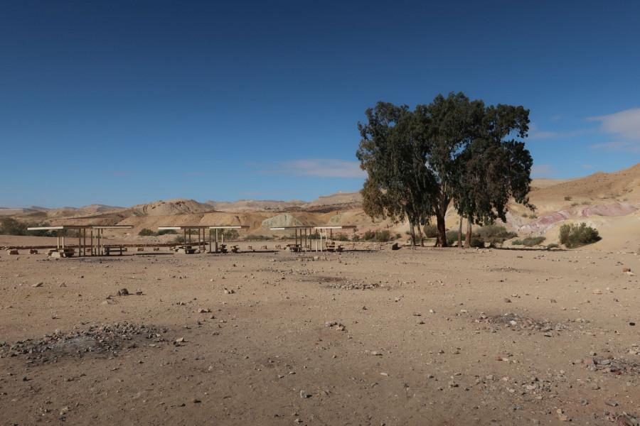 Kempovací stanoviště v Colored Sands