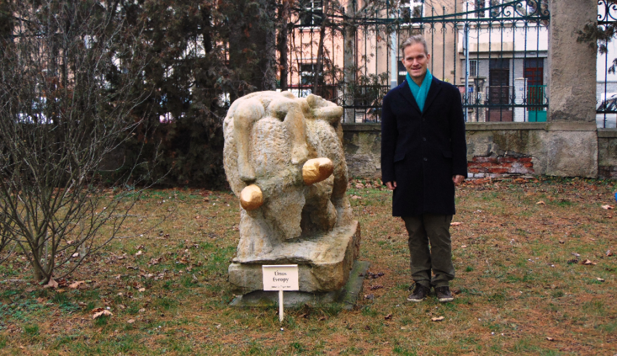 U sochy Únos Evropy