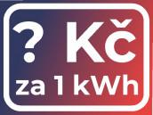 Kolik platím za jednu kilowatthodinu?