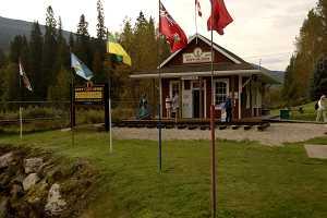 Nedaleko Revelstoku se spojila transkanadská železnice