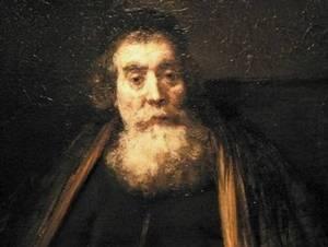 Rembrandtův portrét Komenského, galerie Uffizi