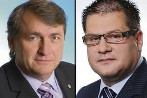 Jíří Šulc a Petr Kušnierz