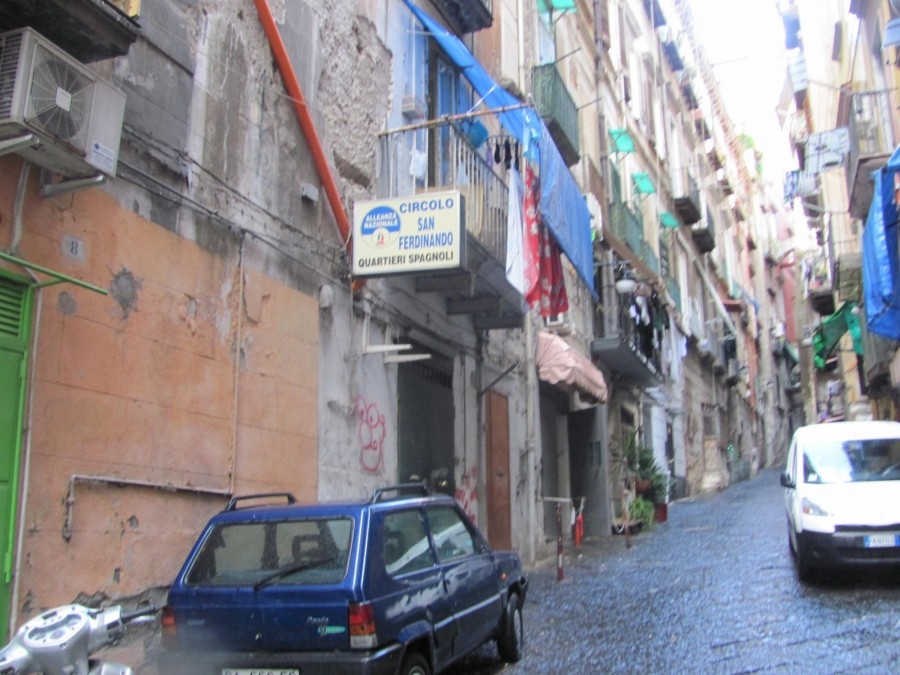 Španělská čtvrť.
