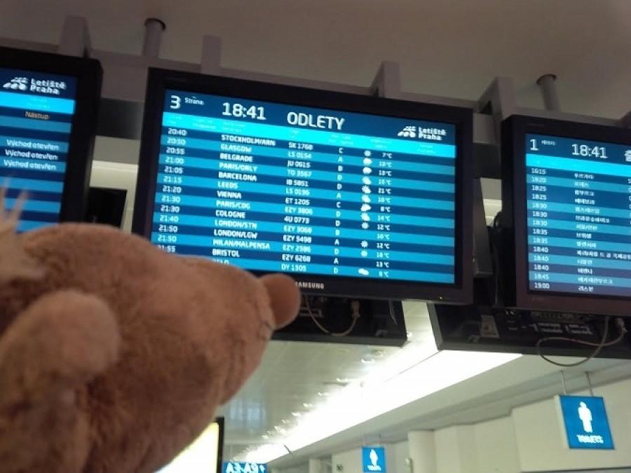 Do Skotska jsme letěli. Na letišti jsem si bedlivě prostudoval Modrou Svítící Tabuli a z dostupných informací například zjistil, že v Glasgow je stejný počasí, jako v Bělehradě.  To jen tak pro zajímavost.
