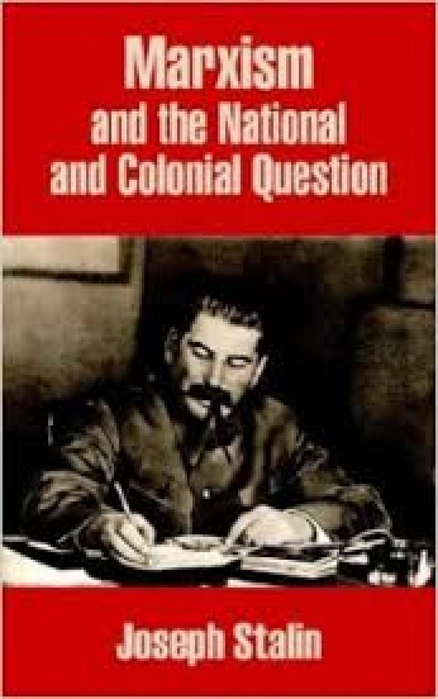 Stalinovu knihu Marxismus a národnostní a koloniální otázka čítající 344 stran vydalo roku 1951 nakladatelství Družstevní práce