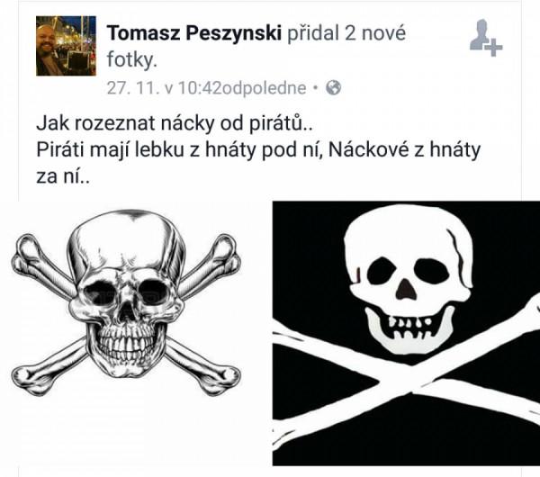 lovec nácků, expert Peszynski
