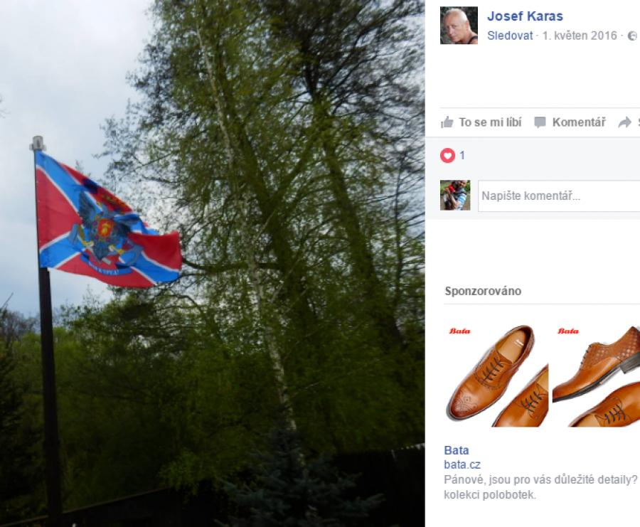 Vlajka tzv. Novoruska