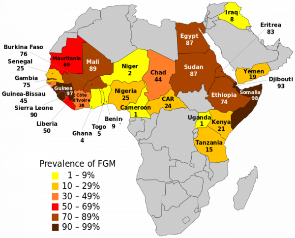 Údaje UNICEF, 2015. Zdroj: Wikipedia