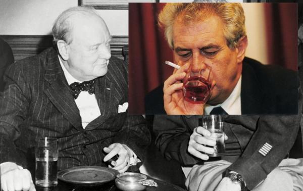 Churchill a Zeman