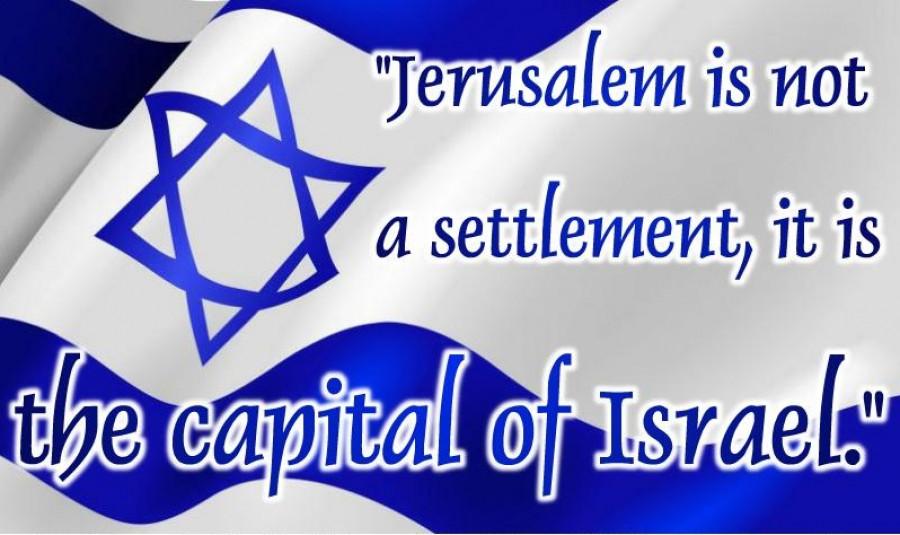 Hlavní město státu Izrael - Jerusalém