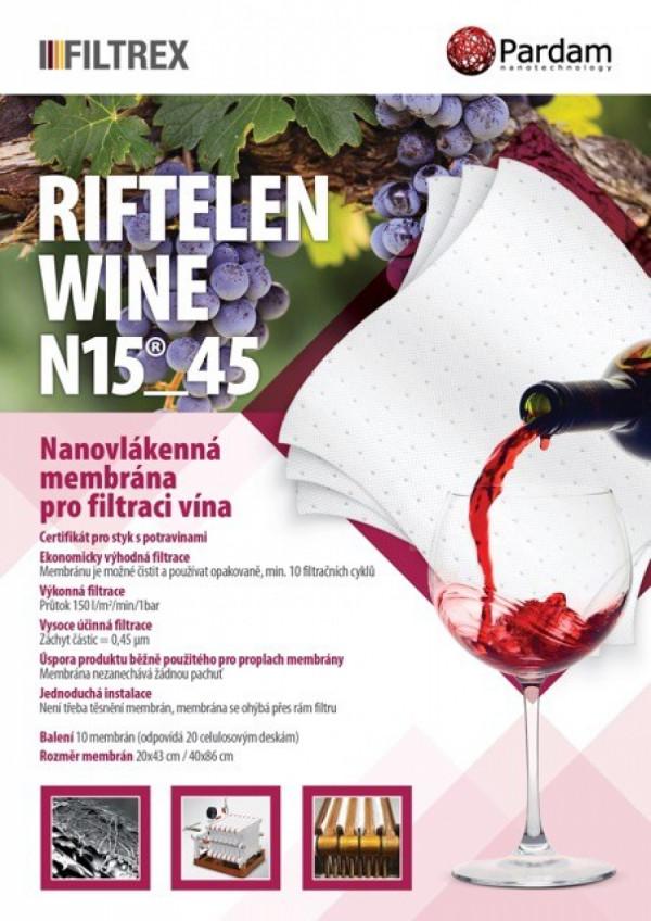 Nanofiltr RIFTELEN N15
