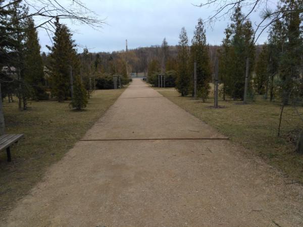 městský park Lesík