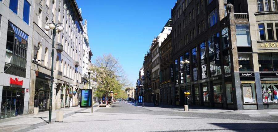Praha bez Pražanu, u stareho bufeta Koruna
