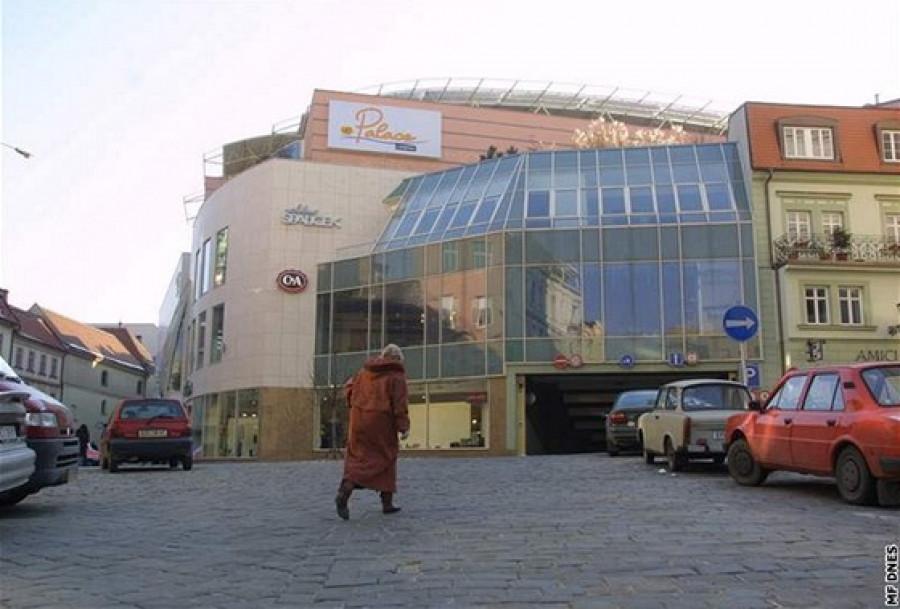Obchodní centrum Velký Špalíček v Brně