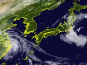 Nepartak:  Tajfun co mohl před týdnem vykolejit tokijskou olympiádu - než se vydal severně