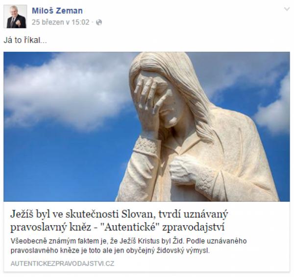 Ježíš byl Slovan