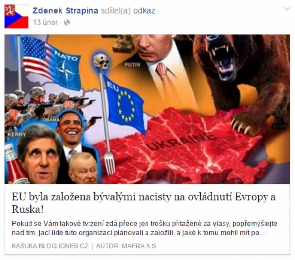 Nacistická EU ovládne Evropu a Rusko