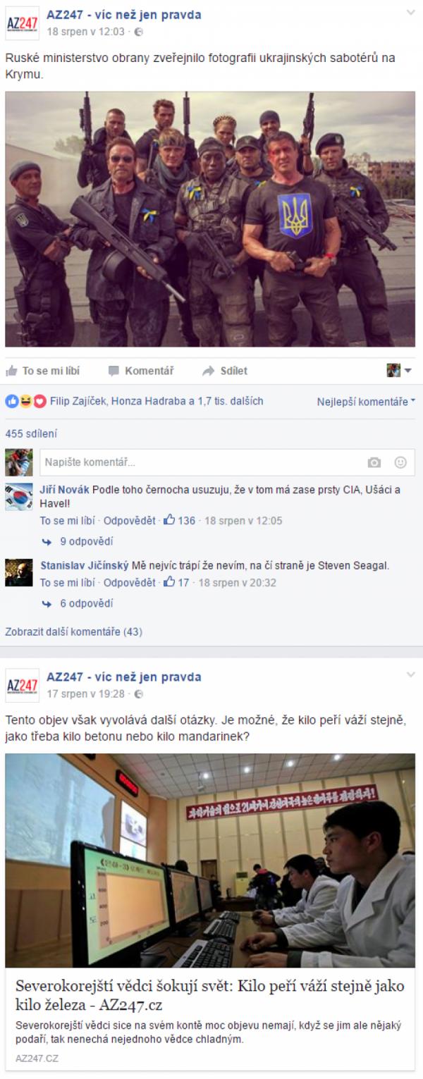 Obsah az247.cz