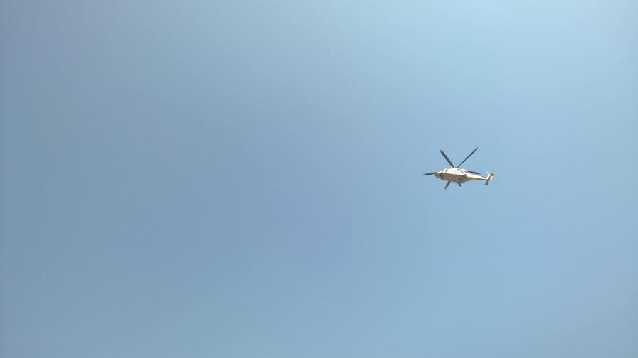 Pátrání po lodích s uprchlíky. Denně z italských a řeckých letišť vzlétnou desítky vrtulníků pobřežní stráže
