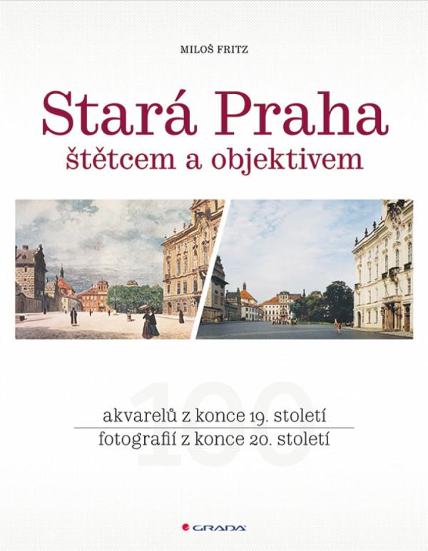 V barevné publikaci porovnává Miloš Fritz půvabné 100 let staré akvarely českého krajináře a ilustrátora staré Prahy - Václava Jansy - s fotografiemi zobrazeného místa v současnosti.