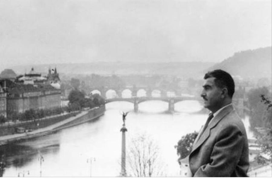 Legendární vůdce Kurdů M.Barzani v Praze (1958)