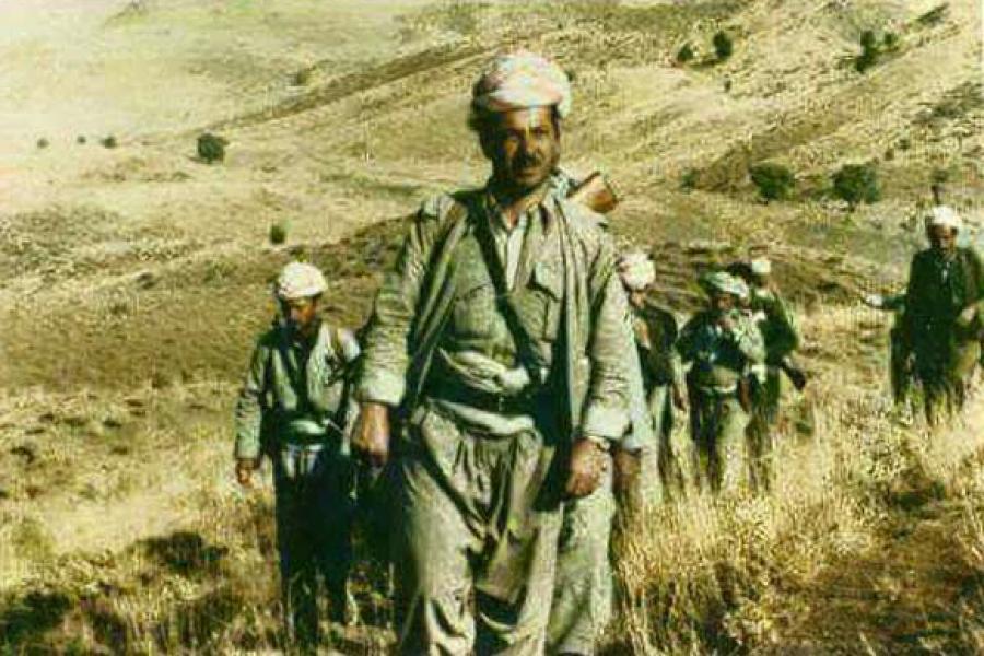 Masud Barzani v boji za demokracii