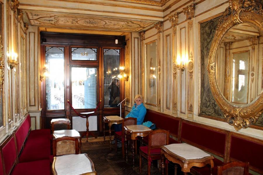 Café Florian - nejstarší kavárna v Evropě (1720)