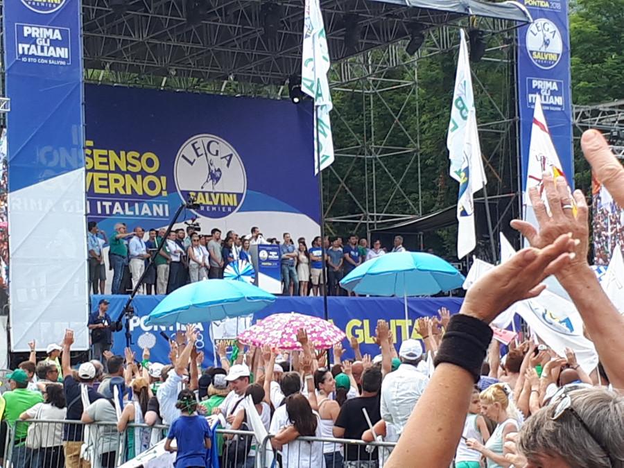 Matteo Salvini dokáže rozjásat davy jako nikdo.