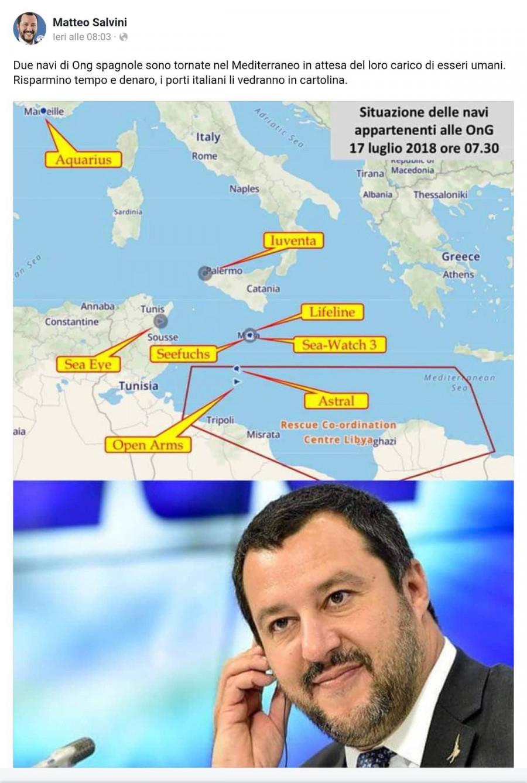 Neziskovkové lodě jsou v přístavech jen španělská Open Arms  měla namířeno k Libyi ... do Itálie mají zákaz.