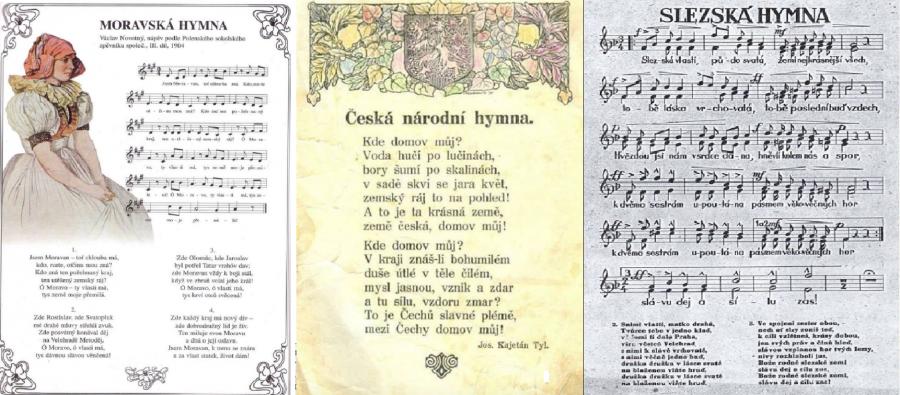 Zemská hymna: Morava, Čechy, Slezsko