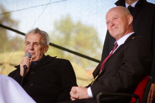 President Miloš Zeman, zdroj: Hrad.cz