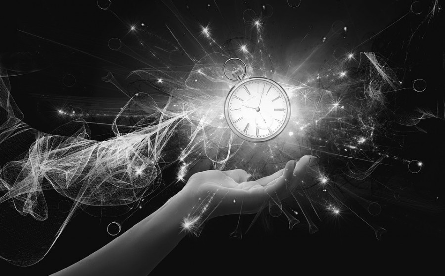 Time Futuristic Abstract Science Dark Wallpaper