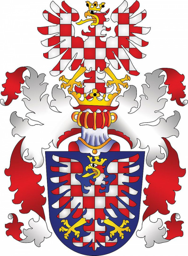 Znak moravskeho markraběte (do roku 1915)