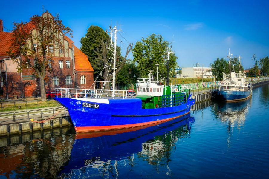 Gdańský přístav.