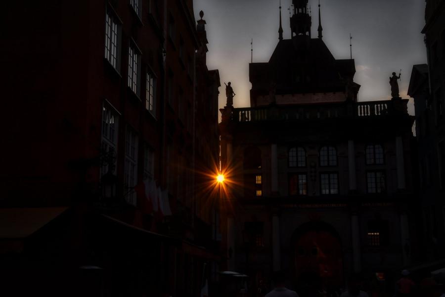 Poslední dotek slunce, Gdańsk.