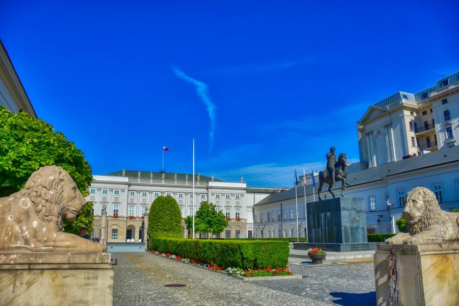Prezidentský palác, Varšava.