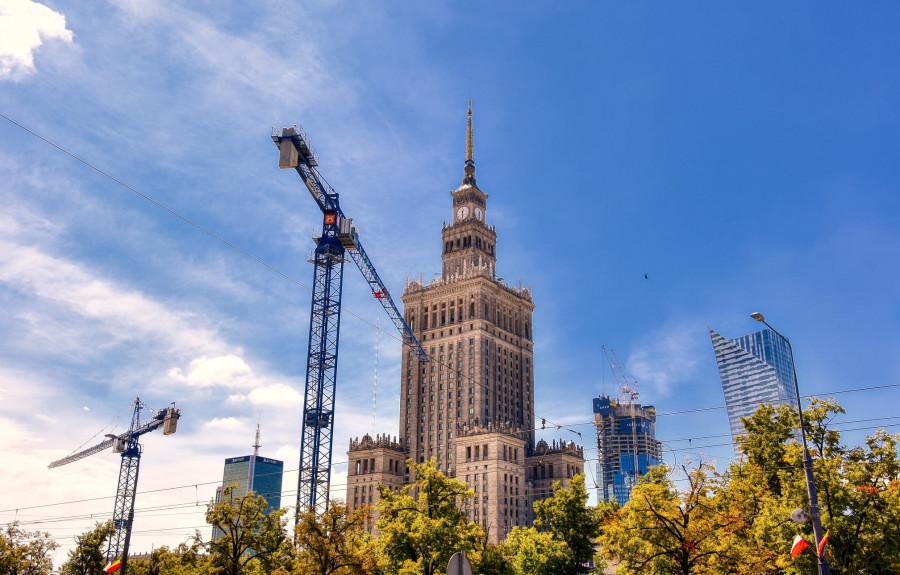 Varšava je město, které neustále roste. Do výšky i do krásy.